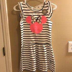 Minnie dress with sequins that flip